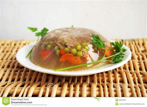 cuisine pork aspic stock image image 38616231