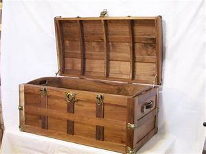 In The Shop Notes: Steamer Trunk - DONE!