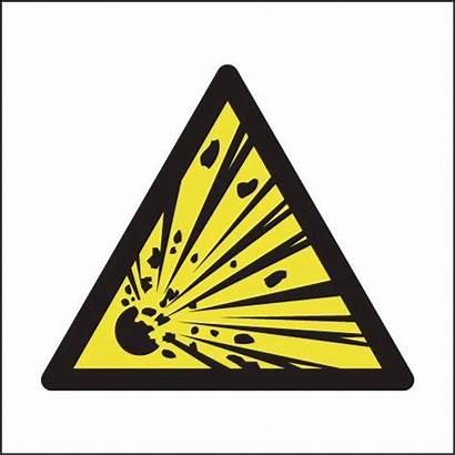 Explosion Symbol Explosive Hazard Signs Sign Risk