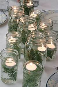 Kerzen Im Weckglas : ideen f r weihnachtliche dekoration mit tannenzweigen ~ Frokenaadalensverden.com Haus und Dekorationen