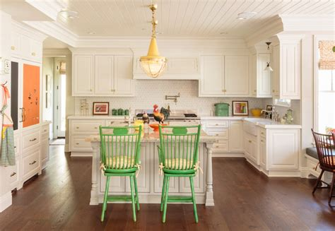 Colorful Traditional Home Los Angeles by Colorful Traditional Kitchen Traditional Kitchen Los