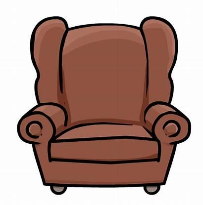 Clipart Chair Brown Arm Transparent Webstockreview