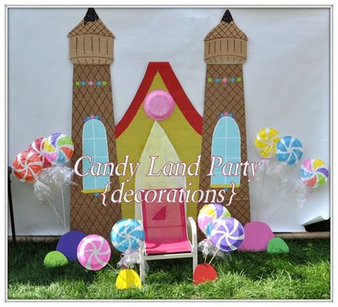 cool   candy land decorations  pinterest