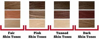 Skin Tone Hair Colors Chart Cool Matching