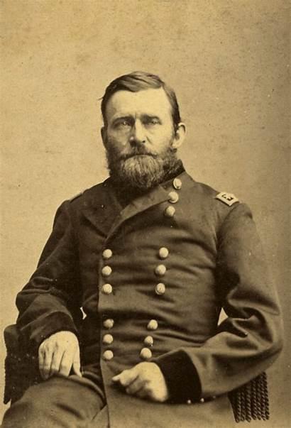 Portrait Grant Ulysses General Union Stereoscopic 1865