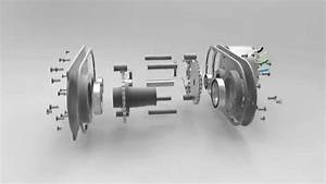 Exploded View Animation Of Chain Drive Transmission