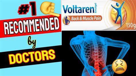 pain voltaren muscle cream relief