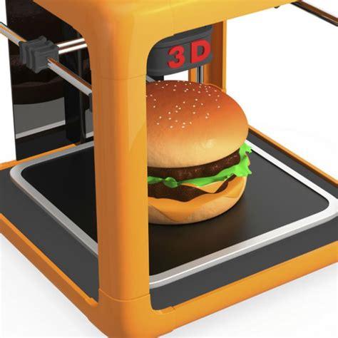 invention cuisine 5 choses surprenantes à réaliser avec une imprimante 3d