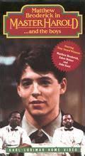 Master Haroldand the Boys (1985 film) - Alchetron, the ...
