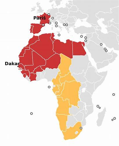 Rally Dakar Svg Countries Africa Wikipedia Wikimedia