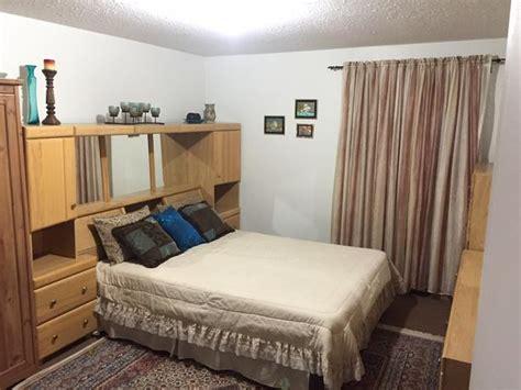palliser queen bedroom set   mattress gatineau
