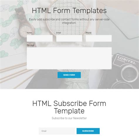 Templates Free Free Bootstrap Template 2018