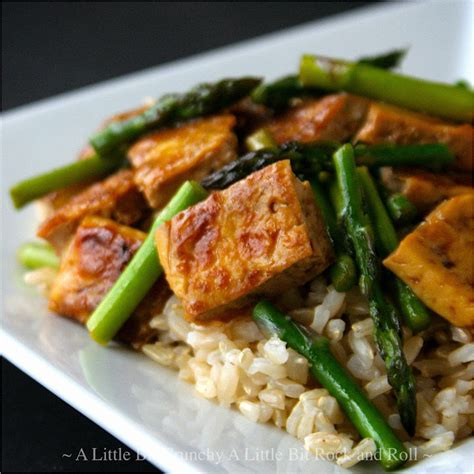 tofu stir fry a little bit crunchy a little bit rock and roll quot dry fry quot tofu stir fry with asparagus