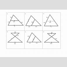 Similar Triangles Matching Task By Cturner16  Teaching Resources Tes