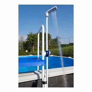 Norme Pour Piscine Hors Sol : douche piscine gre dpe10 fixer sur une chelle de ~ Zukunftsfamilie.com Idées de Décoration