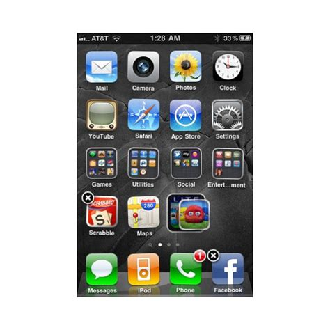 create folder on iphone how to move iphone icons rearranging the home screen