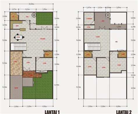 desain rumah minimalis  lantai    foto desain