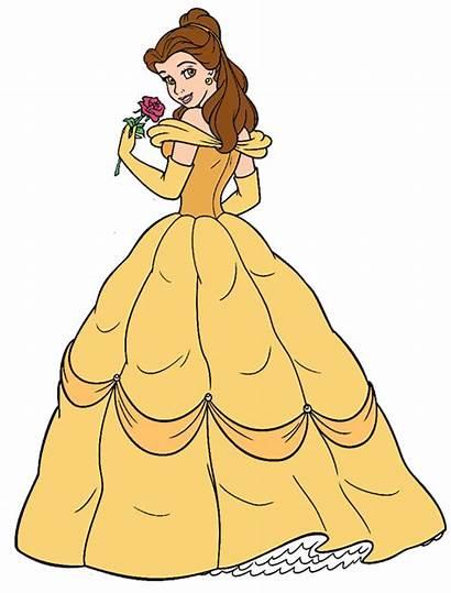 Belle Princess Clipart Disney Rose Clip 20clip
