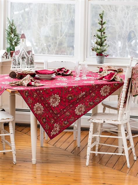 pink kitchen tablecloth empress paisley tablecloth kitchen table linens