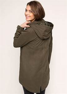 Olive Green Pregnancy Parka By Esprit