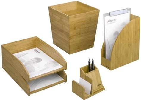 accessoires de bureau de luxe bamboo la gamme d 39 accessoires de bureau 100 écolo