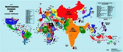 Map Change 2005 Economic Each Countries Global