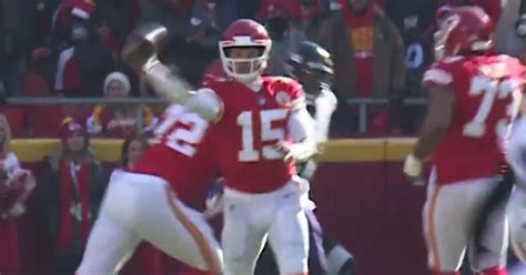 patrick mahomes   pass    insane