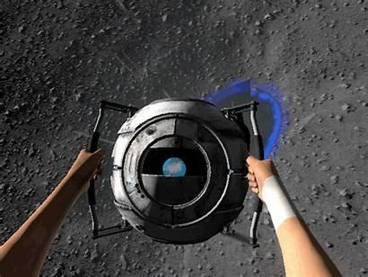 Portal Gifs Animated Wheatley Giphy Moments Gifer