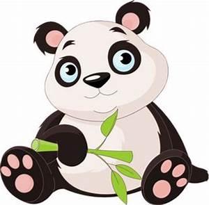 Cute Cartoon Panda Cute Cartoon Panda Bears Clip Art