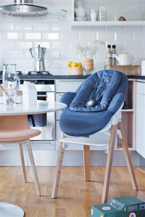 combiné transat chaise haute stokke steps par permafrost la chaise bébé polyvalente et évolutive