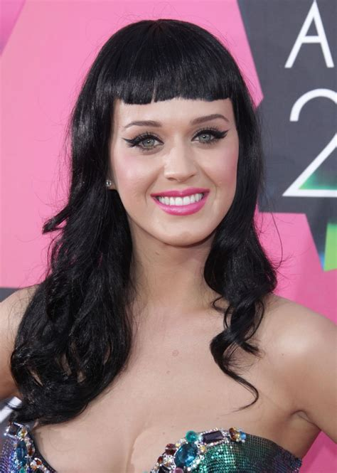 Famous Celebrities Katy Perry Hair Color