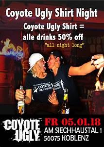 Getränke Für Party Berechnen : party shirt night vol 10 alle getr nke f r die h lfte coyote ugly im saloon koblenz in ~ Themetempest.com Abrechnung