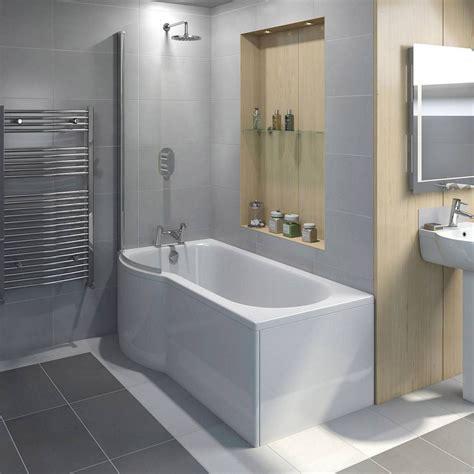 evesham shower bath    lh victoria plumb shower