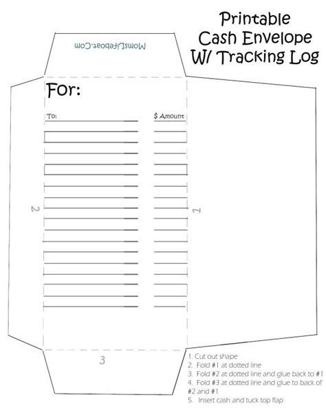 printable cash envelopes great   stay  budget