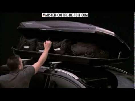 coffre de toit thule excellence avec power click et gopack set 8006 chez mister coffre de toit