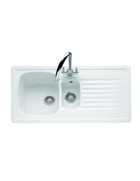 white ceramic kitchen sink 1 5 bowl villeroy boch medici ceramic kitchen sink 1 5 bowl 6753 2042