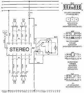 2001 Daewoo Leganza Audio Wiring Diagram