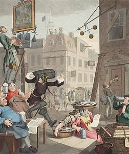 Beer Street, Illustration From Hogarth Drawing by William