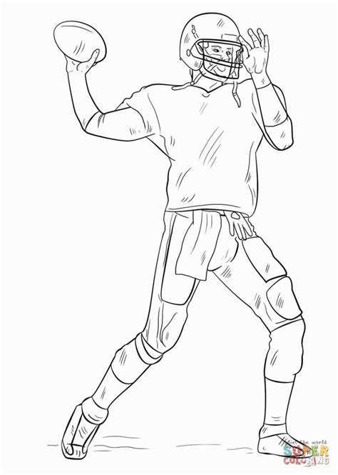 football player coloring pages football coloring pages sports coloring pages coloring pages