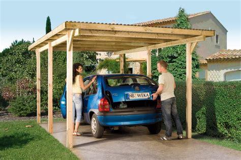 Mehrwertsteuer Garage by Holz Carport Bausatz Weka 171 Primus 187 Einzelcarport Ebay