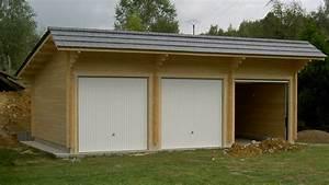 garage carport naturabois abris de jardin chalet With garages en bois prefabriques