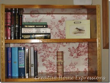 Dressing A Bookcase by Creative Home Expressions Dressing A Bookcase Using