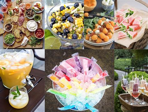 Party Food : Summer Party Ideas Top 5