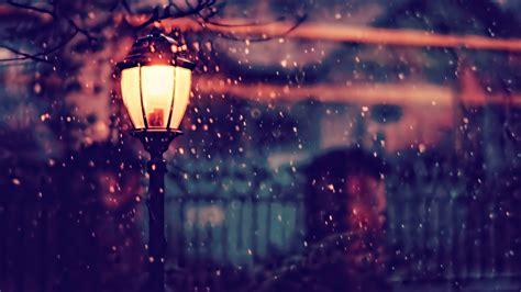 street light winter   hd  wallpapers
