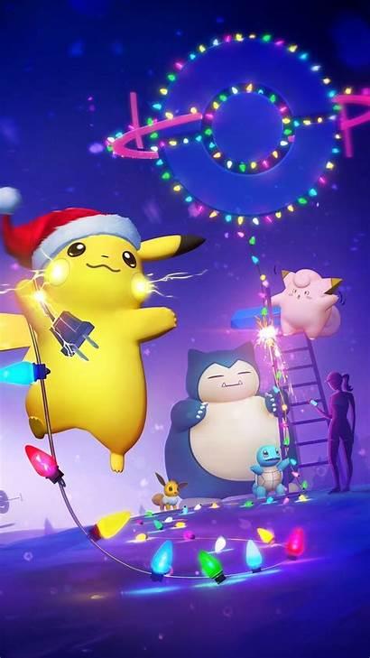 Pokemon Christmas Holiday Poka Halls Deck Cool