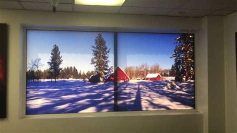 digital window videos prolab digital windowscapes transforms any window into landscape backlit