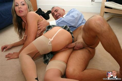 Panty Hose Sex British Senior Loves To Giv Xxx Dessert