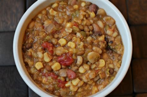 crock pot vegetarian recipes slow cooker 13 bean soup