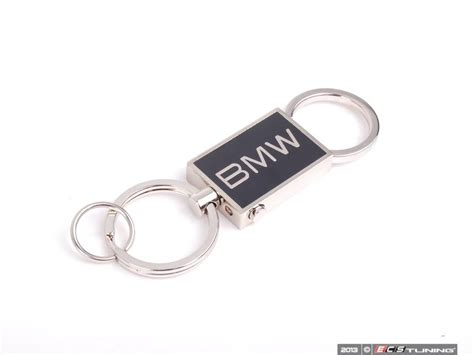 Genuine Bmw Locket Key Ring With Bmw Logo