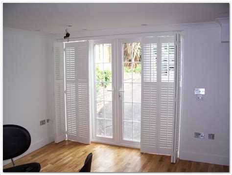 shutters  french doors practical   dress